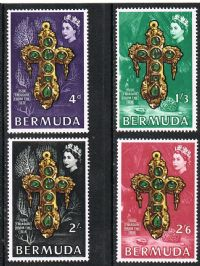 Bermuda SG228-231 1969 Underwater Treasure set 4v complete unmounted mint